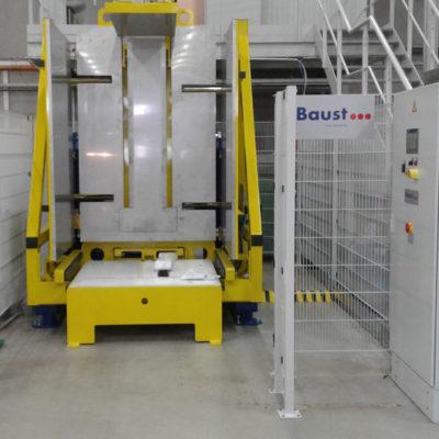 Pw 800 Palettenwechsler Lagermanagement Paletten Logistik Systeme Materialflusssysteme Baust