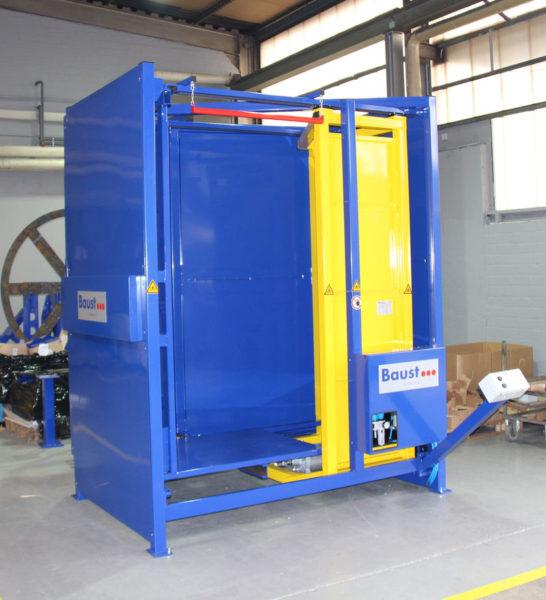 Palettenausrichter Pa Euro Logistik Paletten Materialflusssysteme Baust
