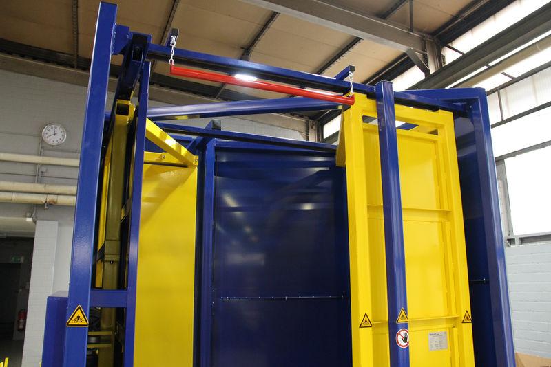 Palettenausrichter Pa Euro Paletten Logistik Materialflusssysteme Baust