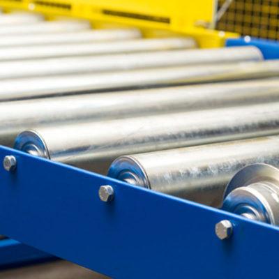 Rollenfoerderer Logistik Systeme Logistikmanagement Lagermanagement Materialflusssysteme Baust