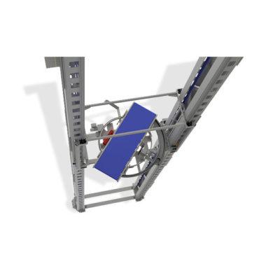 Senkrechtfoerderer Paletten Logistik Systeme Materialflusssysteme Baust