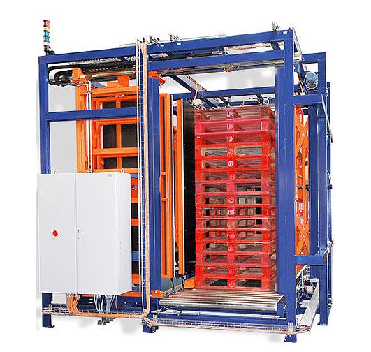 Allseitenzentrierer Palettenhandling Materialflusssysteme Paletten Industrie Baust