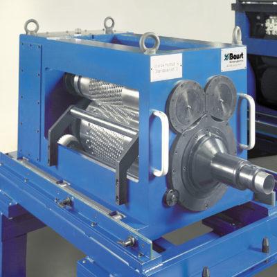 Bau Metallindustrie Druck Stanztechnologie Anwendung Rollen Automation Baust Gruppe