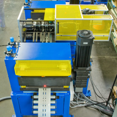 Bau Metallindustrie Druck Stanztechnologie Anwendung Rollen Automation Baust Gruppe12