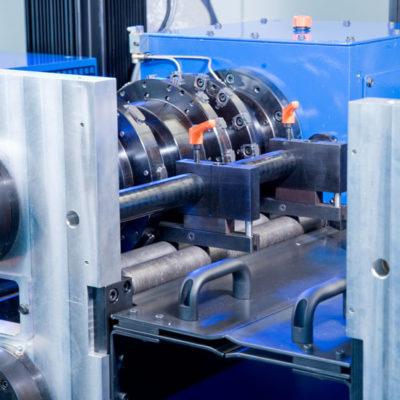 Bau Metallindustrie Druck Stanztechnologie Anwendung Rollen Automation Baust Gruppe3