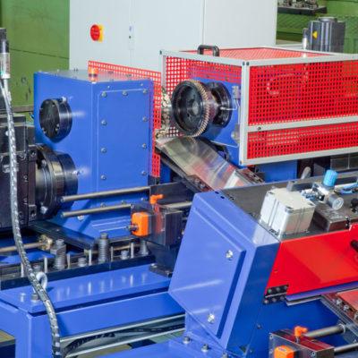 Bau Metallindustrie Druck Stanztechnologie Anwendung Rollen Automation Baust Gruppe4