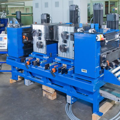 Bau Metallindustrie Druck Stanztechnologie Anwendung Rollen Automation Baust Gruppe5