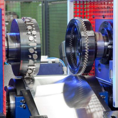 Bau Metallindustrie Druck Stanztechnologie Anwendung Rollen Automation Baust Gruppe8
