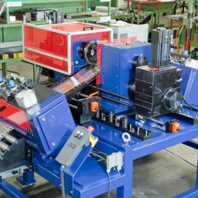 Bau Metallindustrie Druck Stanztechnologie Anwendung Rollen Automation Baust Gruppe9