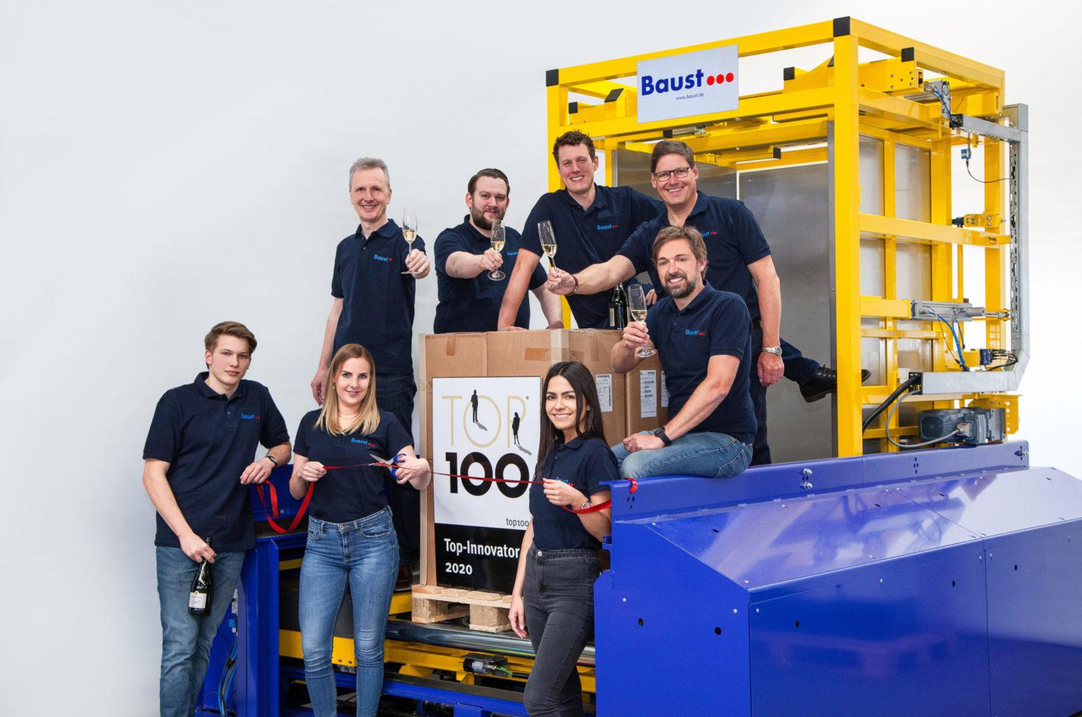 Baust Gruppe Innovation Auszeichnung Materialflusssysteme Top Innovator 2020