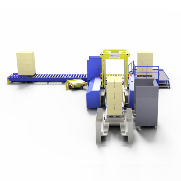 Baust Komplettsysteme Palettieranlage Palettiersystem Materialfluss 89087a10