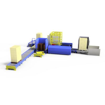 Baust Komplettsysteme Palettieranlage Palettiersystem Materialfluss 89087a9