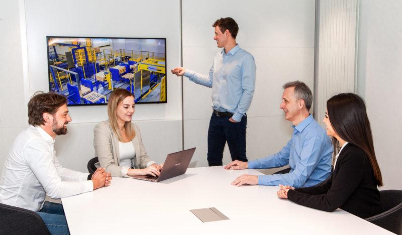 Baust Materialfluss Engineering Planung Beratung Projektierung Optimierung Palettenwechsler Systeme