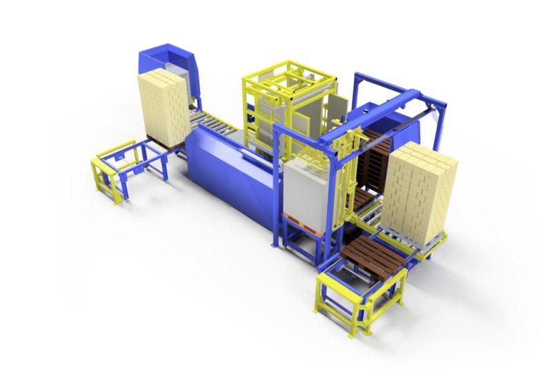 Baust Vollautomatische Komplettsysteme Materialfluss Prozess Wareneingang Palettenwechsler Foerdertechnik 99048a Final Ha
