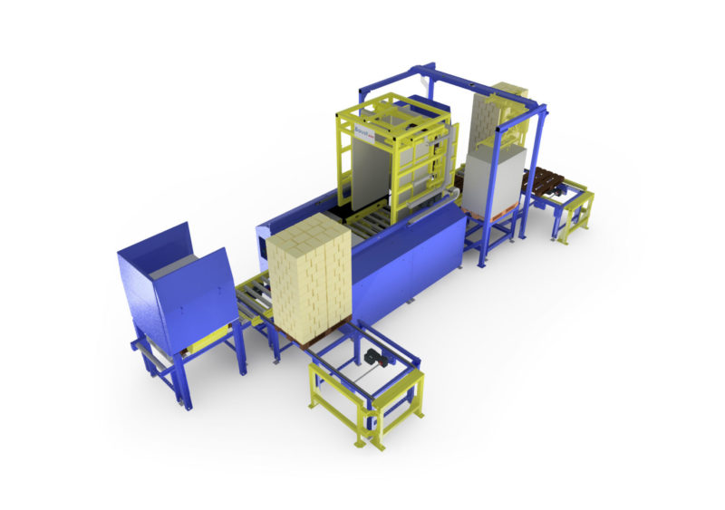 Baust Vollautomatische Komplettsysteme Materialfluss Prozess Wareneingang Palettenwechsler Foerdertechnik 99048a Final Va