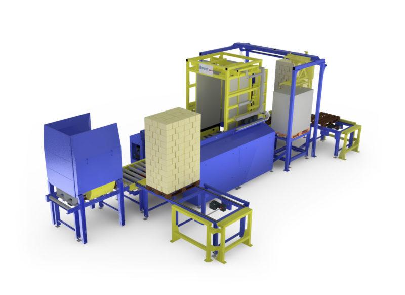 Baust Vollautomatische Komplettsysteme Materialfluss Prozess Wareneingang Palettenwechsler Foerdertechnik 99048a Final2
