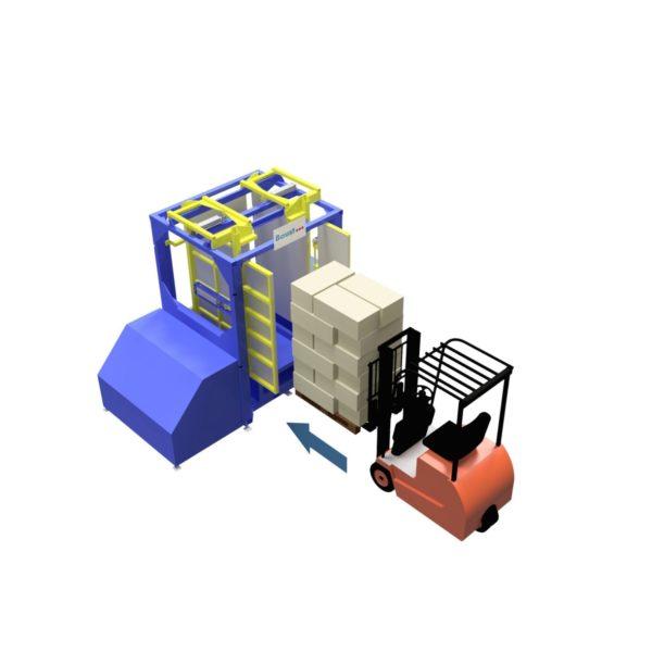 Baust Zentrierstationen Allseitenzentrierer Warenzentrierung Centering Station Az1000 1