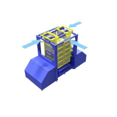Baust Zentrierstationen Allseitenzentrierer Warenzentrierung Centering Station Az1000 2