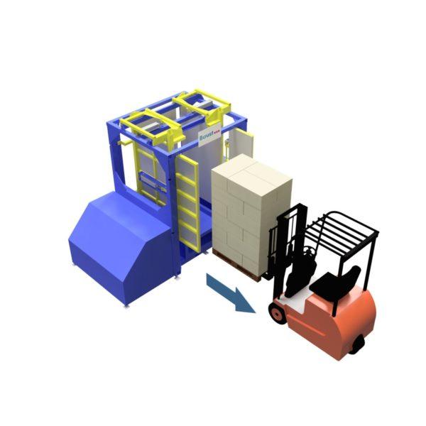 Baust Zentrierstationen Allseitenzentrierer Warenzentrierung Centering Station Az1000 3