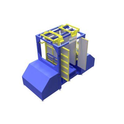 Baust Zentrierstationen Allseitenzentrierer Warenzentrierung Centering Station Az1000