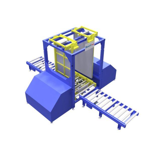 Baust Zentrierstationen Allseitenzentrierer Warenzentrierung Centering Station Az2000