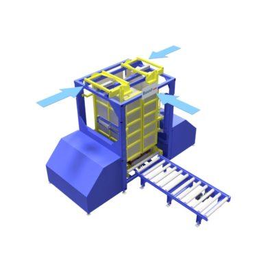 Baust Zentrierstationen Allseitenzentrierer Warenzentrierung Centering Station Az3000 2