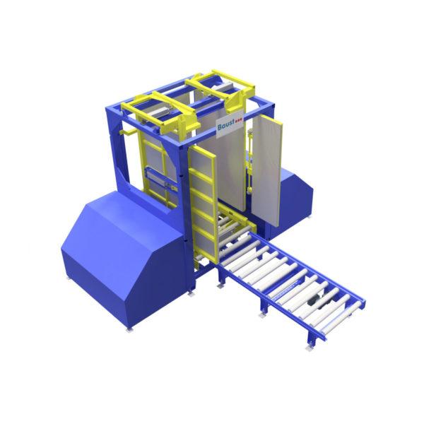 Baust Zentrierstationen Allseitenzentrierer Warenzentrierung Centering Station Az3000