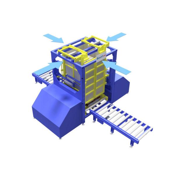 Baust Zentrierstationen Allseitenzentrierer Warenzentrierung Centering Station Az4000 2