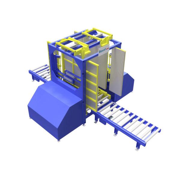 Baust Zentrierstationen Allseitenzentrierer Warenzentrierung Centering Station Az4000