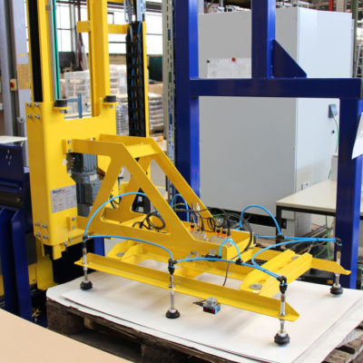 Deckblattaufleger Logistik Systeme Lagermanagement Materialflusssysteme Baust