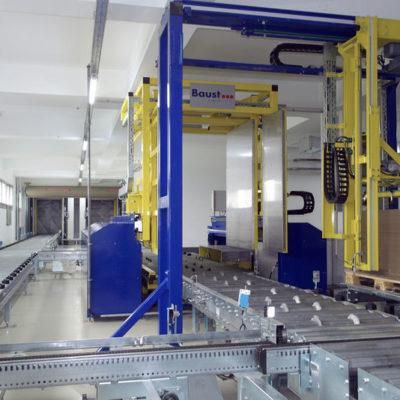 Deckblattaufleger Systeme Logistikmanagement Lagermanagement Materialflusssysteme Baust