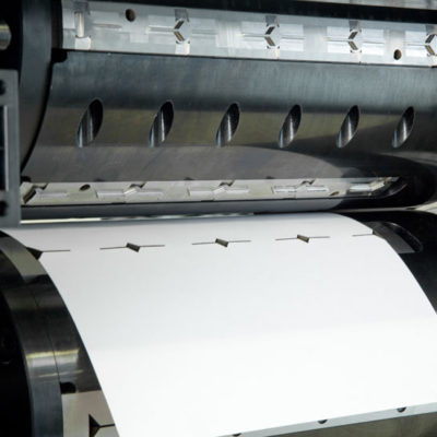 Etiketten Druck Stanztechnologie Anwendung Rollen Automation Baust Gruppe2