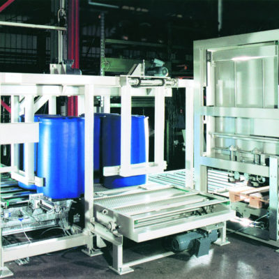 Fasspalettierer Logistik Systeme Lagermanagement Logistikmanagement Materialflusssysteme Baust