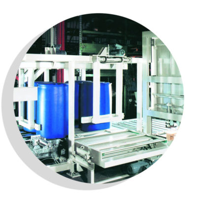 Fasspalettierer Logistik Systeme Logistikmanagement Lagermanagement Materialflusssysteme Baust