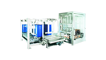 Fasspalletierer Palettenhandling Materialflusssysteme Paletten Industrie Baust