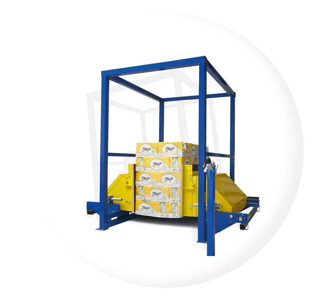 Klemmverfahren Palettenwechsler Modelle Paletten Wechseln Materialflusssysteme Baust