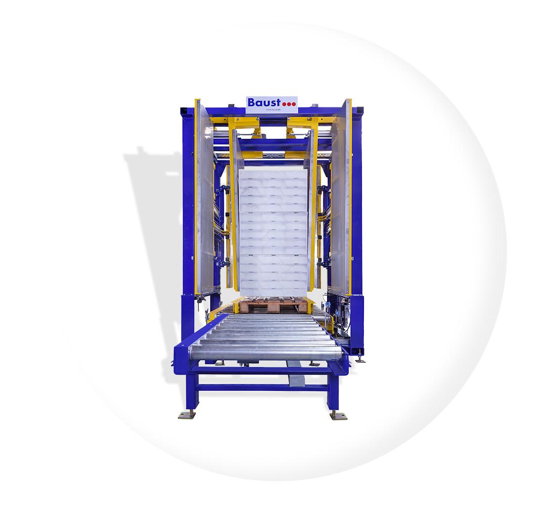 Klemmverfahren Palettenwechsler Pw 500 Inline Paletten Wechseln Materialflusssysteme Baust