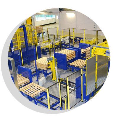 Komplettsysteme Logistik Systeme Logistikmanagement Lagermanagement Materialflusssysteme Baust