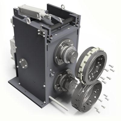 Krs Stanzeinschub Kunststoffindustrie Rotationsstanzmaschine 143722 3