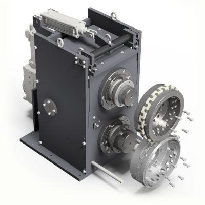 Krs Stanzeinschub Kunststoffindustrie Rotationsstanzmaschine 143722 4