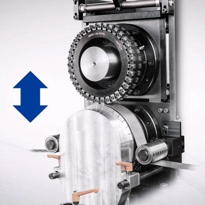 Krs Stanzeinschub Kunststoffindustrie Kunststoffstanze Schliessen Oeffnen Werkzeug Wechsel 2