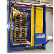 Palettenausrichter Palettenhandling Materialflusssysteme Paletten Industrie Baust