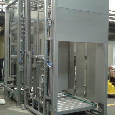 Palettendoppler Paletten Logistik Systeme Lagermanagement Foerdertechnik Baust Materialflusssysteme