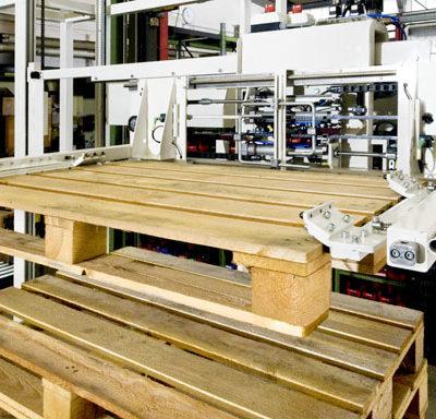 Palettendrehstation Logistik Systeme Lagermanagement Logistikmanagement Paletten Materialflusssysteme Baust