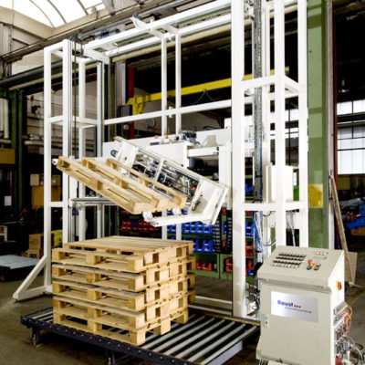 Palettendrehstation Logistik Systeme Logistikmanagement Materialflusssysteme Baust