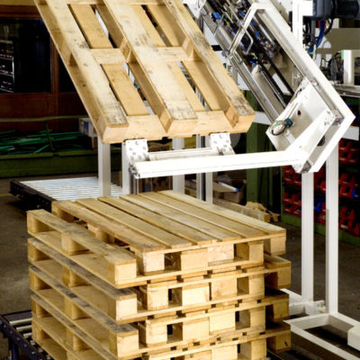 Palettendrehstation Logistikmanagement Logistik Systeme Lagermanagement Materialflusssysteme Baust