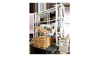 Palettendrehstation Palettenhandling Materialflusssysteme Paletten Industrie Baust