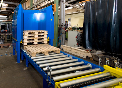 Palettenmagazin Lagermanagement Logistikmanagement Logistik Systeme Materialflusssysteme Baust