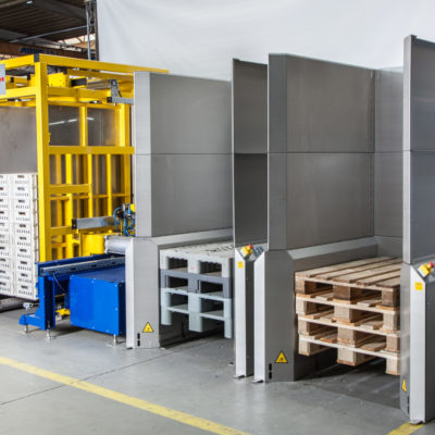 Palettenmagazin Logistik Systeme Lagermanagement Foerdertechnik Baust Materialflusssysteme