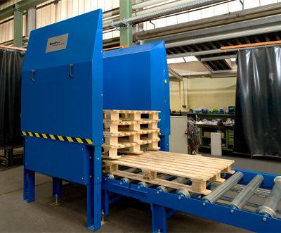 Palettenmagazin Logistik Systeme Lagermanagement Logistikmanagement Materialflusssysteme Baust